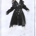 Sylvia coat web