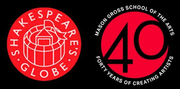 Globe & Mason Gross logos
