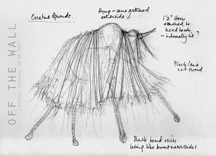 'Creature' costume PQ