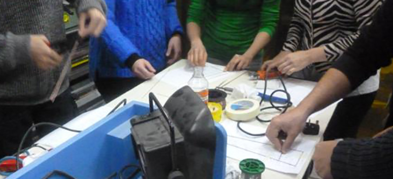 Soldering Workshop 1-5 Banner