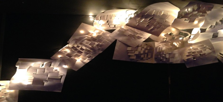 These images are from the installation/performance created by MA Theatre students in the Wimbledon College theatre.